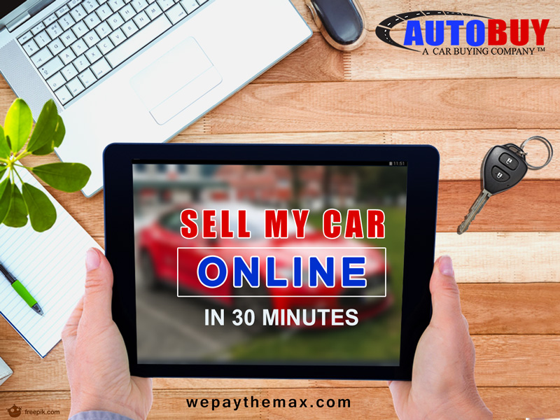 Sell Us Your Car Online In 30 Minutes