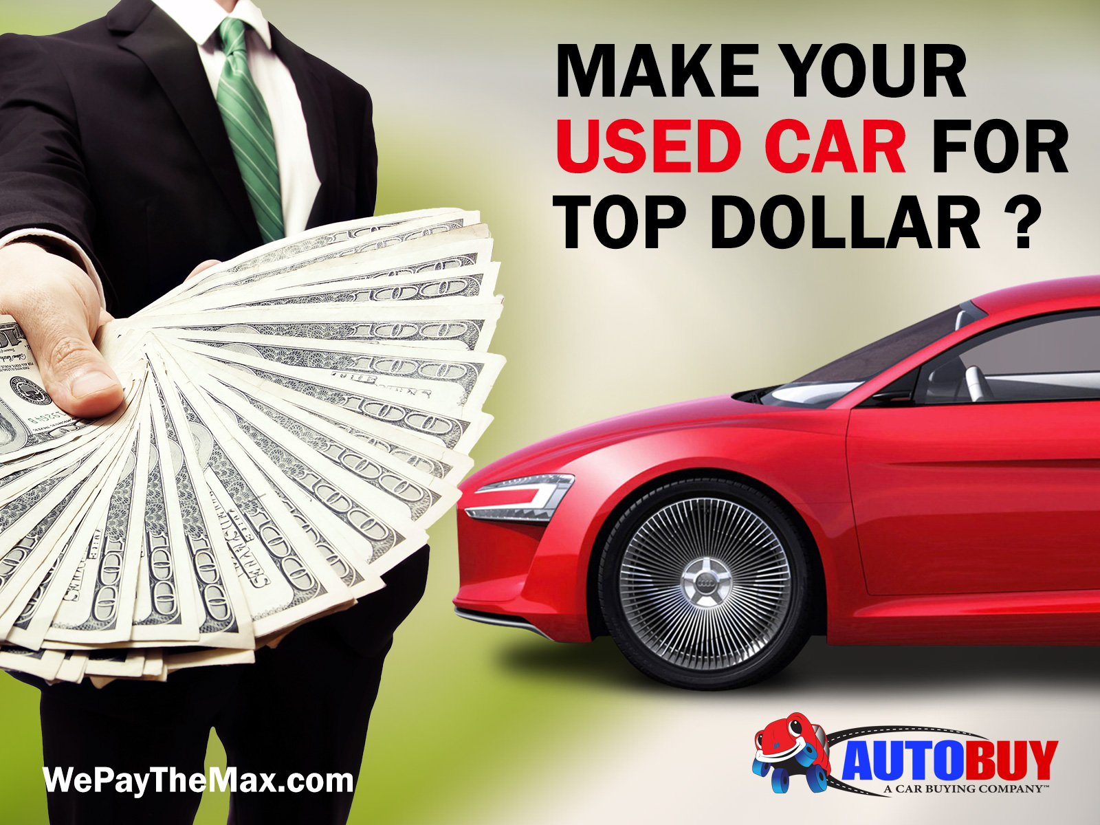 How To Make Max Cash Out Of Your Used Car