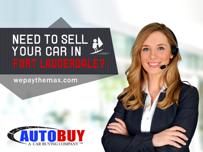 Sell your car in Fort Lauderdale